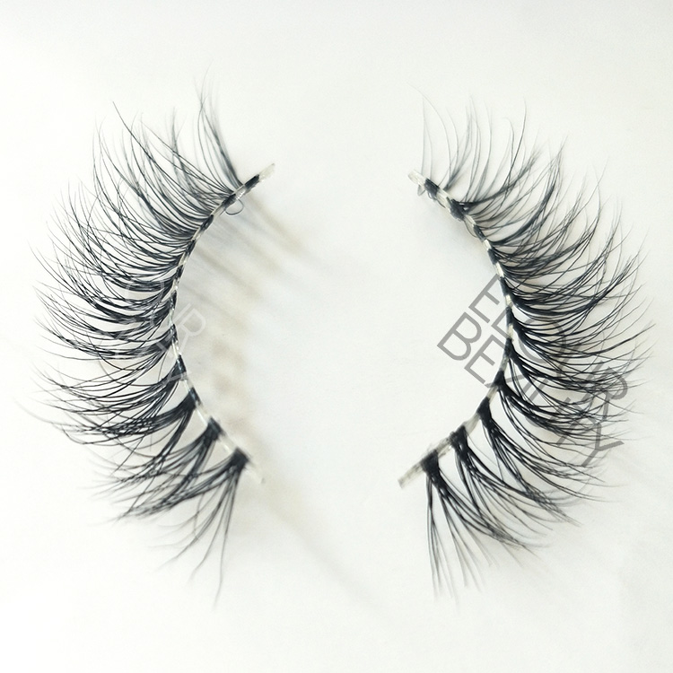 Mink 3d naked band long eyelashes the best secret lashes  ED20